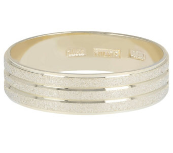 Dieci Satin & Polished Band Ring, 10K Gold - J344417