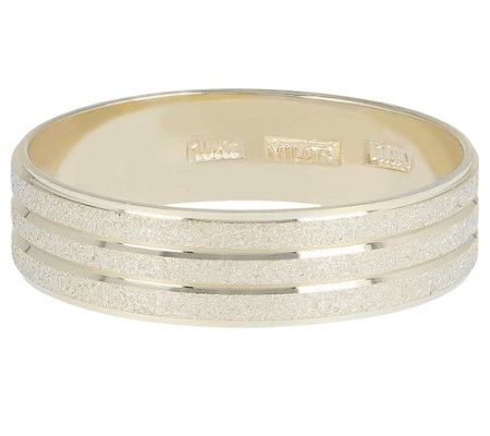 Dieci Satin & Polished Band Ring, 10K Gold