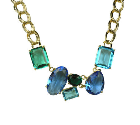 Nolan Miller Ocean Tides Teal Necklace