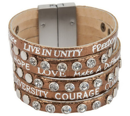 Good Works Come Together Inspirational Bracelet