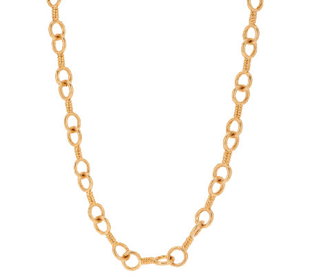 "Linea by Louis Dell'Olio 30"" Status Link Necklace"