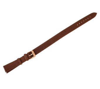 Bronzo Italia 18mm Double-Wrap Leather Watch Strap - J313918