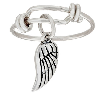 Sterling Silver Charm Ring by Extraordinary Life