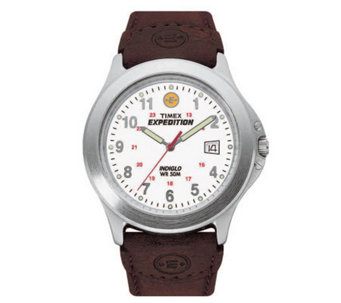 Timex Expedition Metal Field Watch with LeatherStrap - J101919