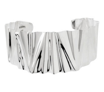 Dominique Dinouart Sterling Large Crinkle Cuff, 23.0g - J268219