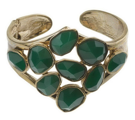 """As Is"" Wildlife by Heidi Klum Freeform Cluster Bangle"