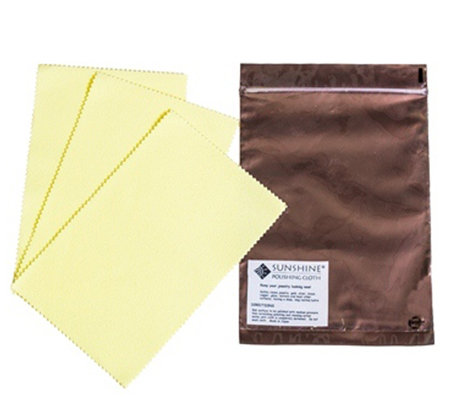 Set of 3 Polishing Cloths