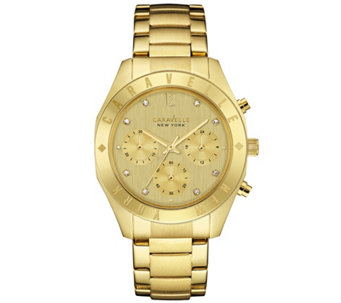 Caravelle New York Goldtone Women's Watch - J343119