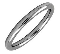 Simply Stacks Sterling Black Rhodium-Plated 2.25mm Polish Ring - J298920