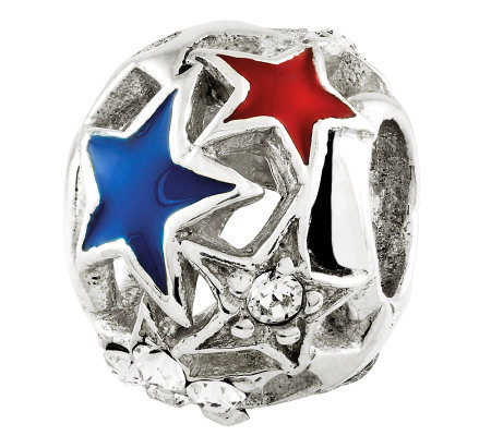 Prerogatives Sterling Cutout Stars Bead