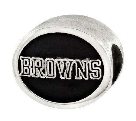 Sterling Cleveland Browns NFL Bead