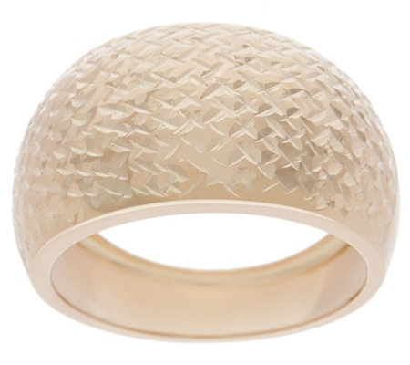 Italian Gold Tapered Band Ring, 14K Gold