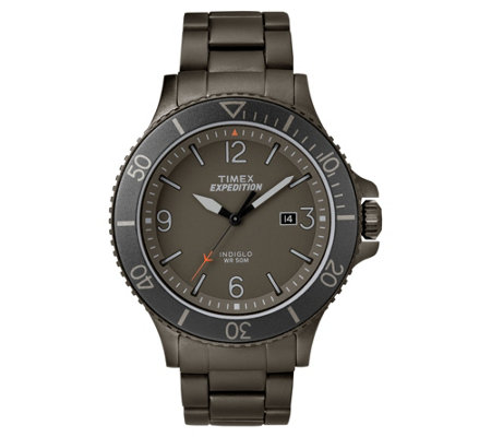 Timex Men's Expedition Ranger Gray Analog Watch