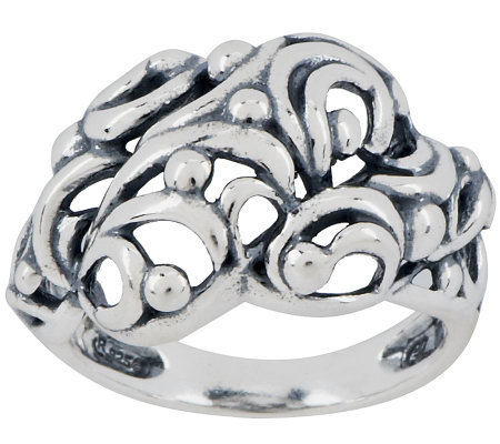 Carolyn Pollack Tango Sterling Band Ring
