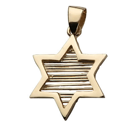 Adi Paz Star of David Pendant, 14K Yellow Gold