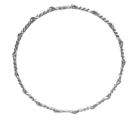 Judith Ripka Sterling Slip-on Bangle