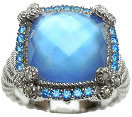 Judith Ripka Sterling in Choice of Stone Ring