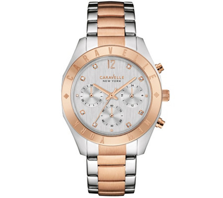 Caravelle New York Rosetone Women's Watch