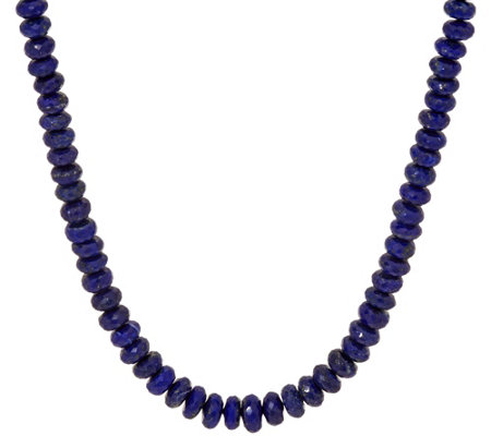faceted lapis pendant necklace item keshi cz rondelle pearl