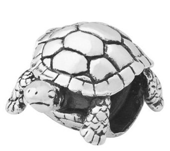 Prerogatives Sterling Turtle Bead - J110022