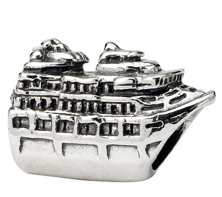 Prerogatives Sterling Silver Cruise Ship Bead