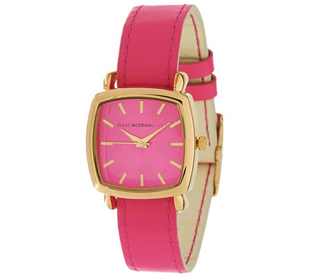 Isaac Mizrahi Live! Reversible Strap Watch