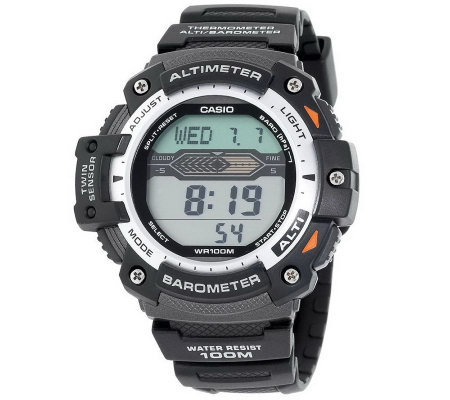 Choice of Casio Men's Twin Sensor Multi-Function Sport Watch
