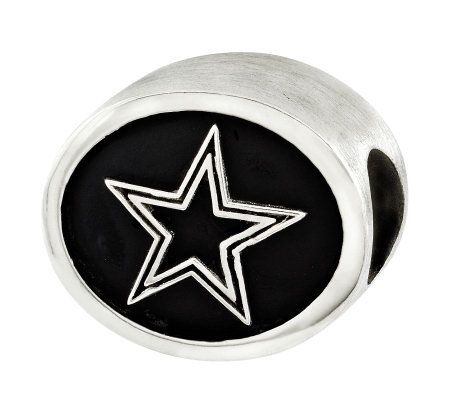 Sterling Dallas Cowboys NFL Bead