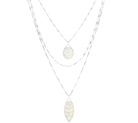 Stella & Dot Aurelia 3-in-1 Pendant Necklace