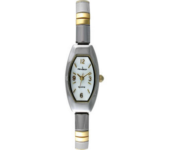 Peugeot Ladies Two-tone Bracelet Expansion Watch - J103423