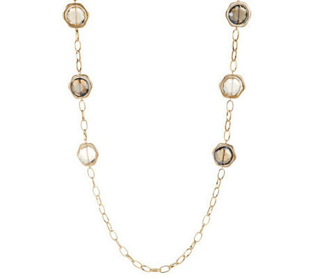 "Joan Rivers Captured Brilliance 46"" Necklace w/3"" Extender"
