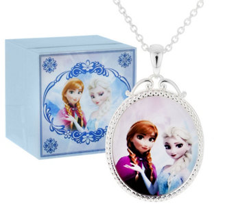 """As Is"" Disney Frozen Necklace with Music Box - J320223"