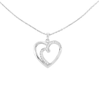"Sentimental Expression Sterling 18"" ""Soulmate""Necklace - J336323"