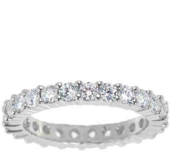 Eternity Band Diamond Ring, 14K Gold, 1-1/2cttwby Affinity - J336723