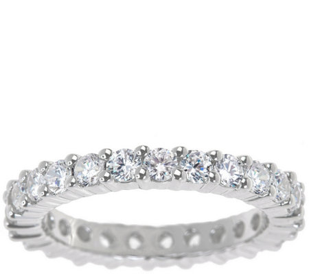 Eternity Band Diamond Ring, 14K Gold, 1-1/2cttwby Affinity