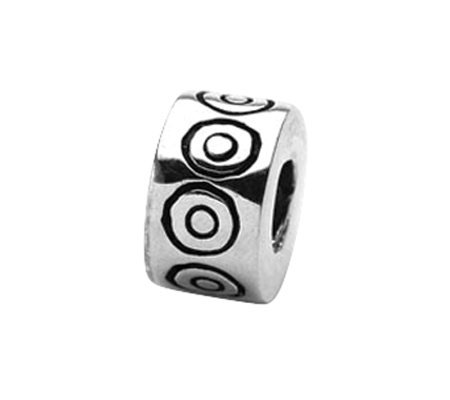 Prerogatives Sterling Circles Bali Bead