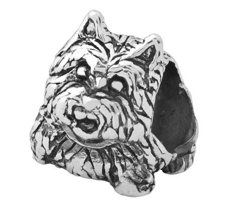 Prerogatives Sterling Scottish TerrierDog Bead