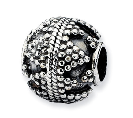 Prerogatives Sterling Studded Artisan Bead