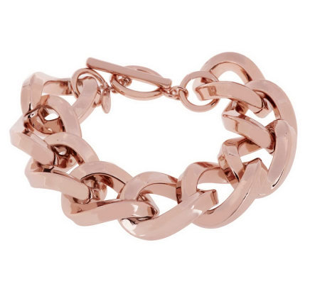 Kenneth Jay Lane's Twisted Link Bracelet