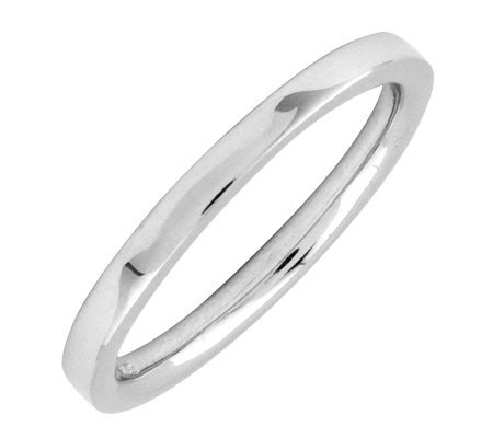 Simply Stacks Sterling Silver 2.25mm Flat Ring