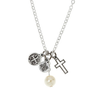 My Saint My Hero Divine Protection Charm Necklace - J330824