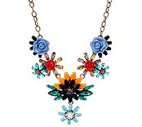 "Joan Rivers Hanging Garden Statement Necklace w/ 3"" Extender - J331424"