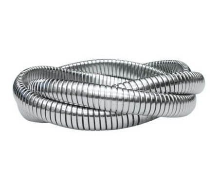 Stainless Steel Interlocking Tubagos Bracelet