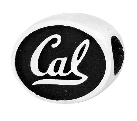 Sterling Silver University of California, Berkley Bead