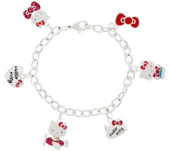 Hello Kitty 40th Anniversary Charm Bracelet - J318225