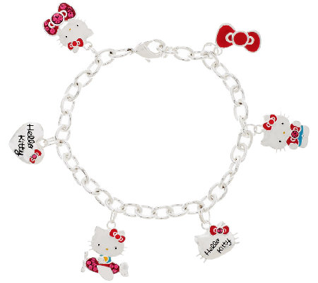Hello Kitty 40th Anniversary Charm Bracelet