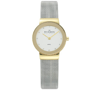 Skagen Women's Two-Tone Mesh Bracelet Watch - J339325