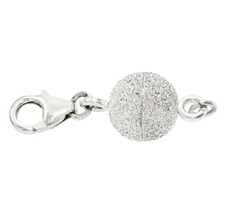 Sterling Glitter Ball Magnetic Clasp - J339925