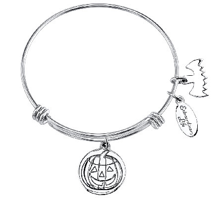 Extraordinary Life Sterling Pumpkin AdjustableBangle