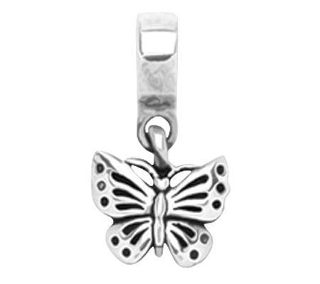 Prerogatives Sterling Butterfly Dangle Bead